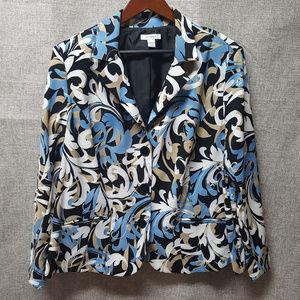 Dress Barn Fab 3 Button Blazer Plus 22/24W